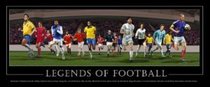 Legends Of Football Canvas