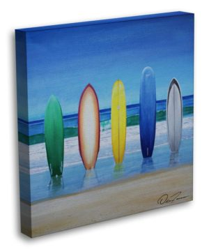 Five Surfboards